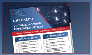 Remote checklist brochure