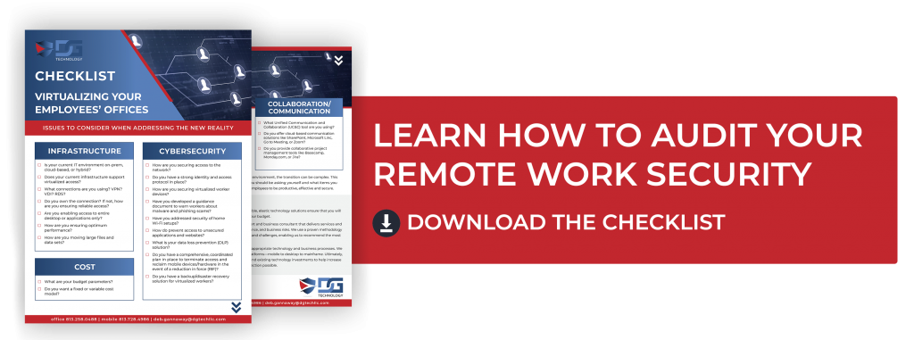 Audit Your Remote Work Security