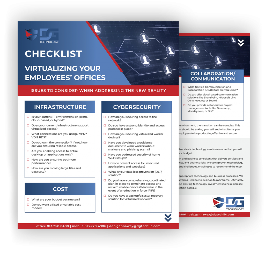 checklist-virtualizing your employees offices